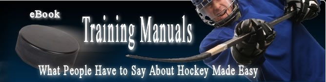 What People have to say about Hockey Made Easy